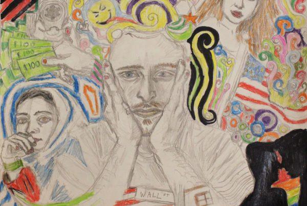 Surrebral Anxiety Drawing