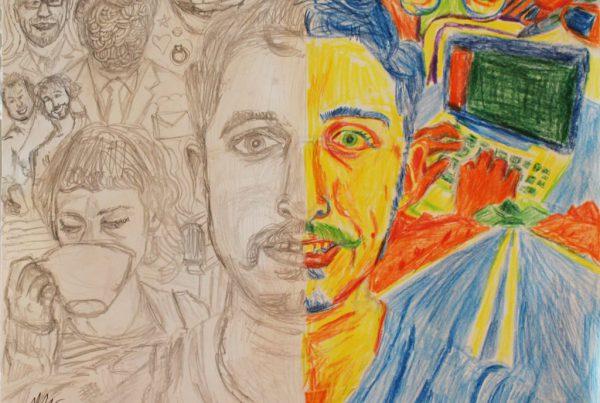 Surrebral Asperger's Drawing