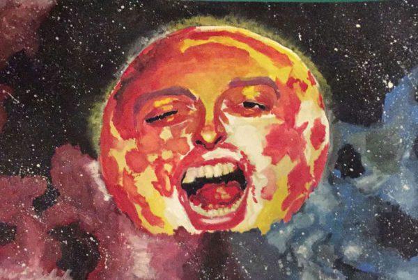 Surrebral Bossa Luna Marquee Painting