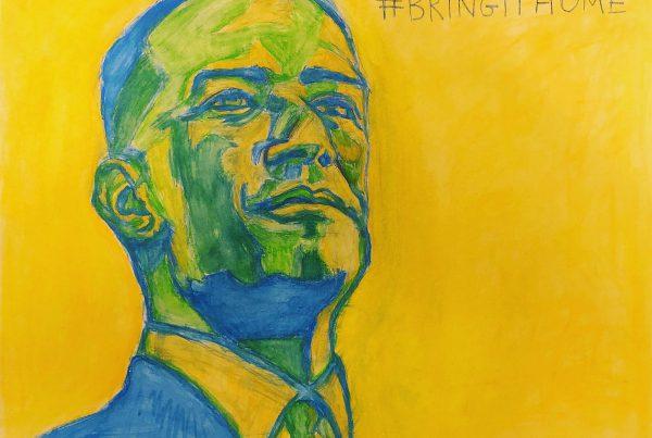 Surrebral #BringItHome Andrew Gillum painting
