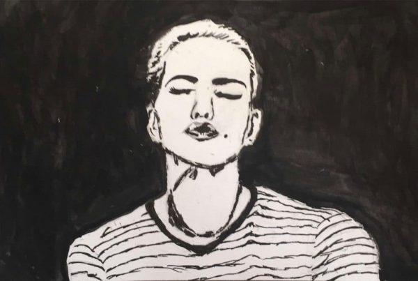 Surrebral Kelsey Murphy Miles Actress Painting